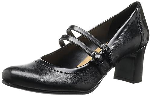 aebeb8676658 Naturalizer Women s Black Leather Jameson 9.5 ...