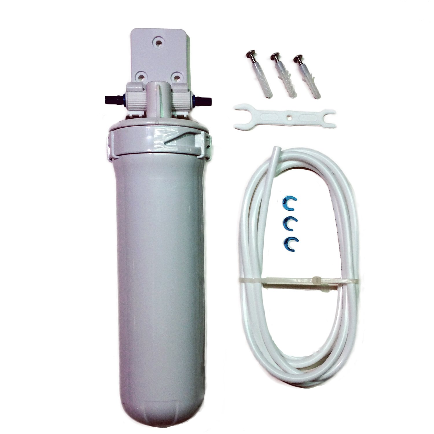 Aquatic Life 50 Micron Sediment Pre Filter W Stainless Nano 10in 5 Mikron Steel Rinseable Mesh Screen 1 4 Press Fittings Pet Supplies