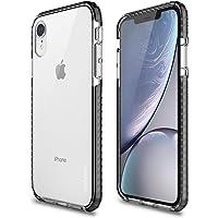 Capa protetora Impact Pro iPhone XR, TPU flexível nas extremidades e ajuda na absorção de impactos, Transparente/Preto…