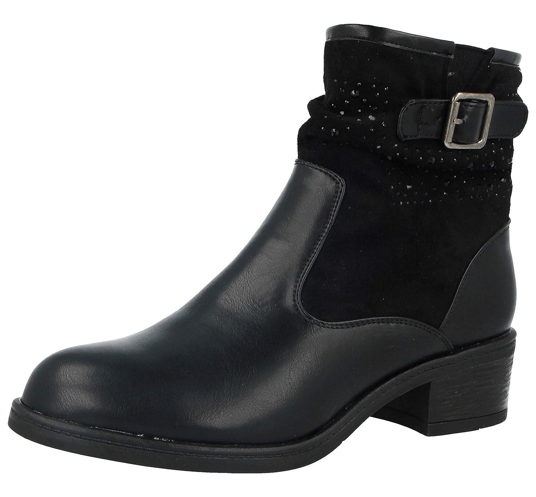 Foster Footwear , Damen Biker Stiefel