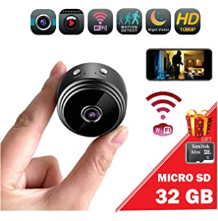 Promo: Mini spy Camera Wireless/WiFi HD 1080P/ Portable Home Security Camera /