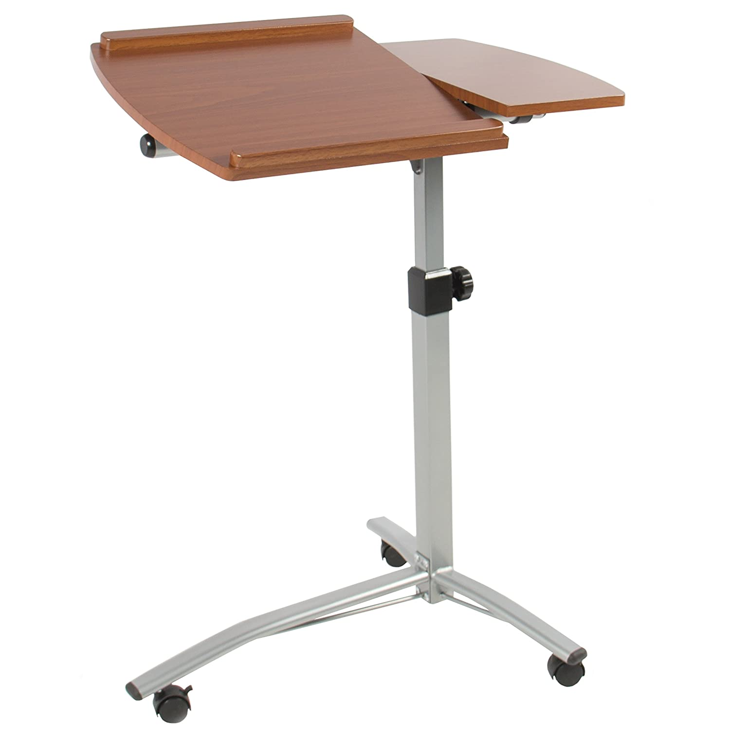 cart bed table adjustable dp angle stand office choice height com hospital amazon best desk products laptop rolling over