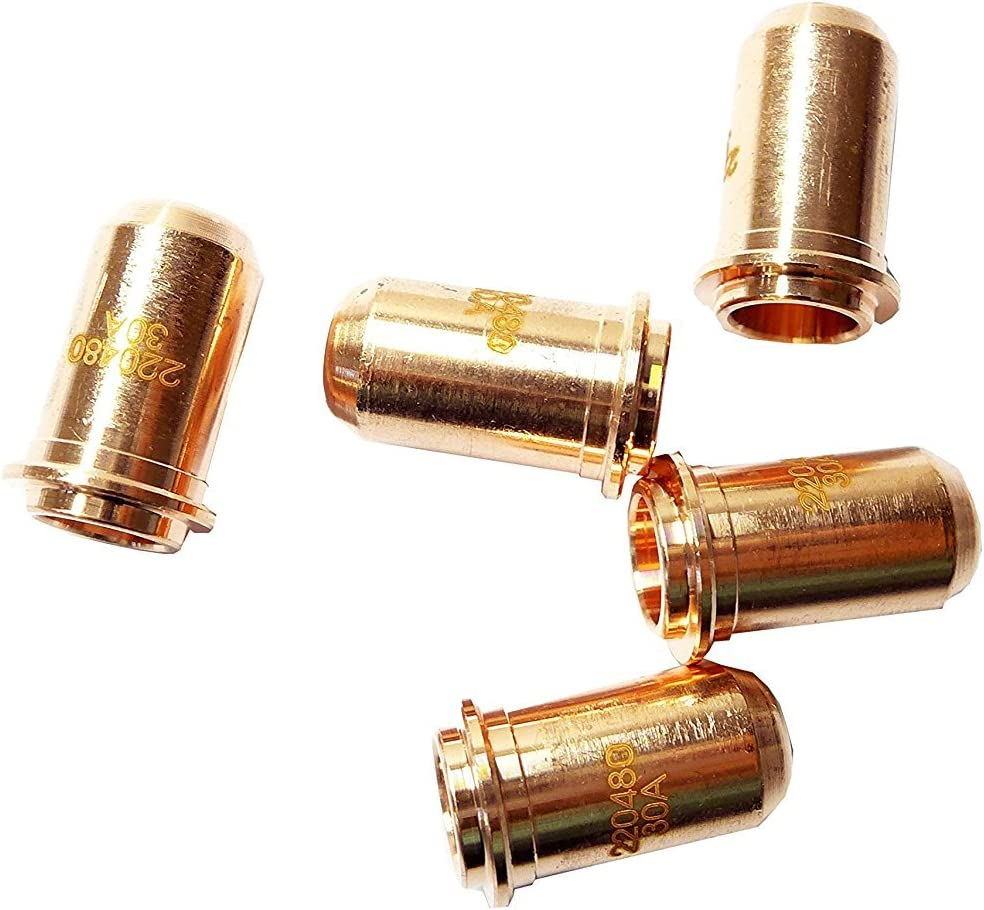 10×Plasma Cutting Torch Kit for Power max 30 Electrodes 220478 Nozzle 220480