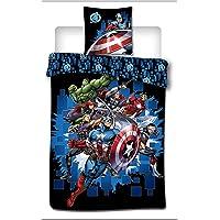 Marvel Avengers Kids Duvet Cover and Pillow case Set 100% Polyester