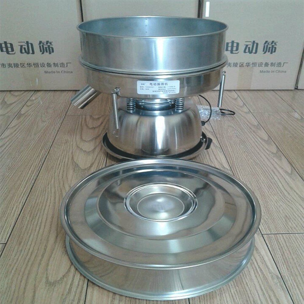 Electric Chinese Medicine Sieve both Dry and Wet Flour Powder Vibrating Screen (220V) by JYNselling