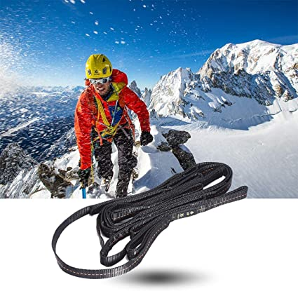 KAILAS Climbing Aider 5 Step Lightweight for Rock Climbing Rescue Climbing Etrier Foot Ascender Ascending Loop Webbing Ladder Hanging Rope Work at Height