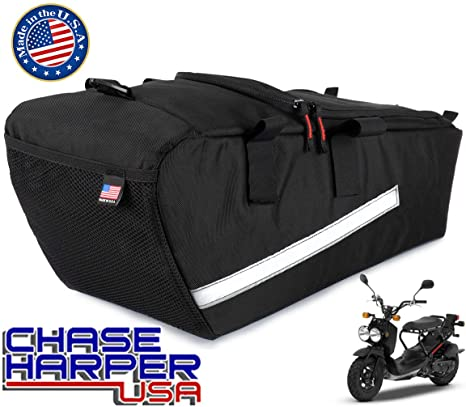 Chase Harper USA 5000 Ruckus Under the Seat Bag, Water-Resistant,  Tear-Resistant, Industrial Grade Ballistic Nylon with Hook and Loop Secure  Straps,