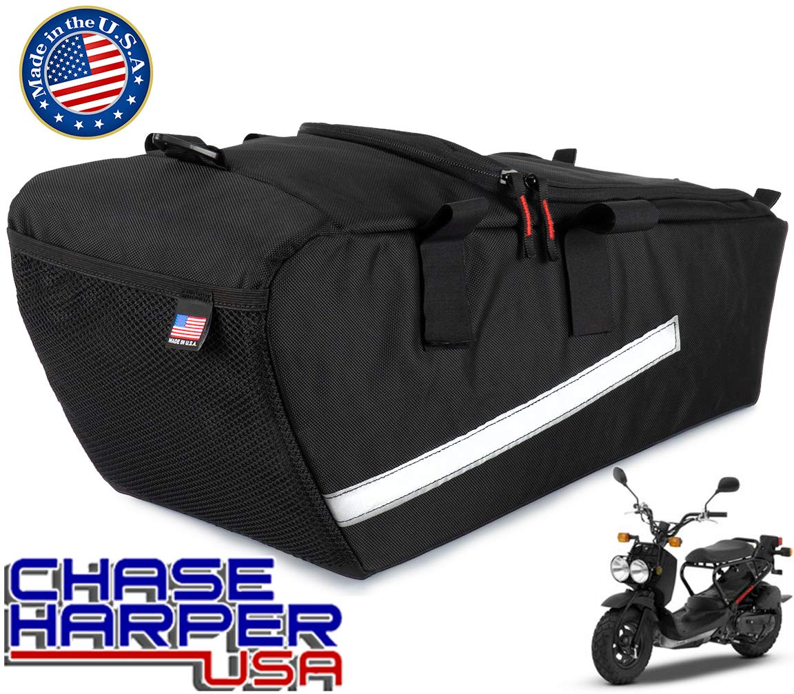 Chase Harper USA 5000 Ruckus Under the Seat Bag, Water-Resistant, Tear-Resistant, Industrial Grade Ballistic Nylon with Hook and Loop Secure Straps, 23 Liters of Storage, 20''L x 9''W x 6''H to 9.5''H