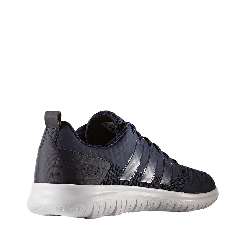 2961cddf0f67 adidas NEO Cloudfoam Lite Flex Mens Sport Trainer Shoe Navy Blue- UK 7   Amazon.co.uk  Shoes   Bags