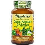 MegaFood - Calcium, Magnesium & Potassium, Supports Healthy Bones & Muscles, 60 Tablets (FFP)