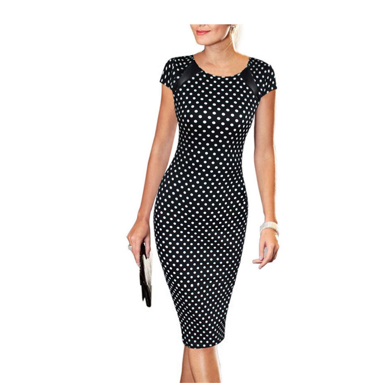 COOCOl Dresses Sheath Women Dress Floral Print Plus Size