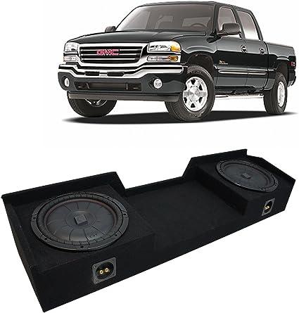 """12/"""" sub woofer box Chevy Silverado Extended cab 1999-2006 12/"""" Dual sub box"""