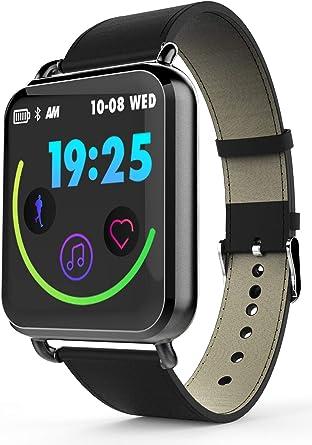 Amazon.com: Reloj inteligente Android iOS Fitness Tracker ...