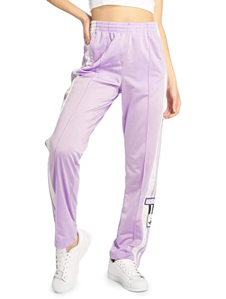 adidas Adibreak W Pantalón de Deporte Purple Gold: Amazon.es: Ropa ...