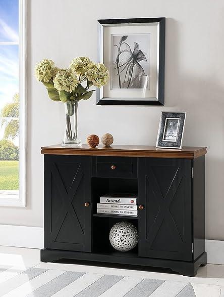 Amazon.com: Kings Brand Furniture Wood Buffet Cabinet Console ...