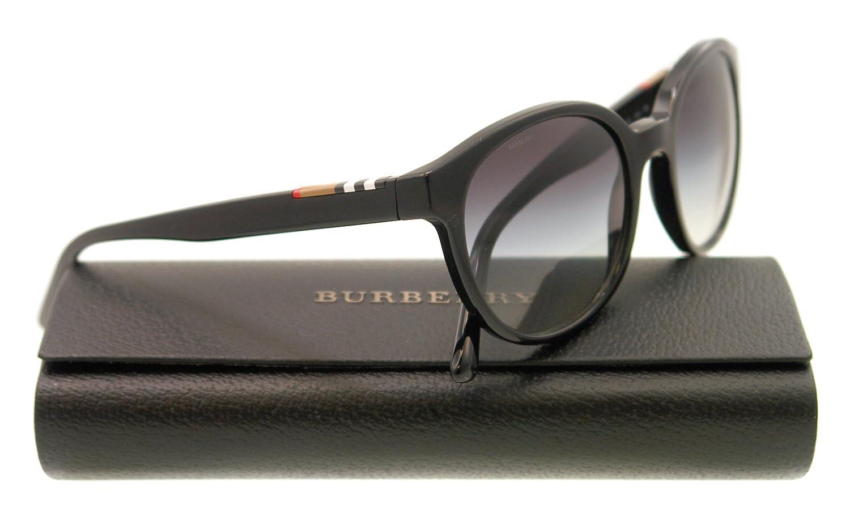 Burberry Sunglasses - 4151 / Frame: Black Lens: Gray Gradient