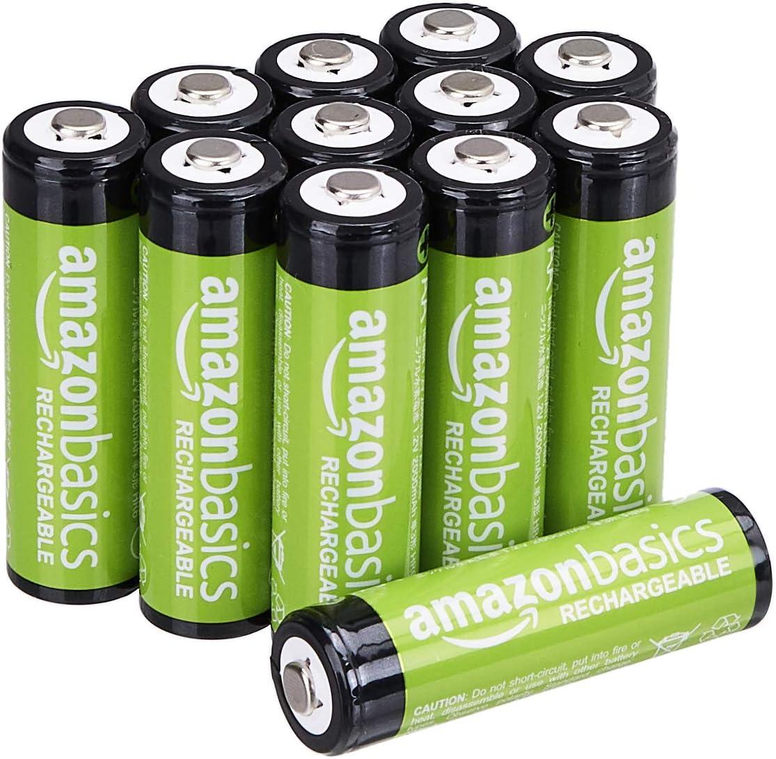 Amazon Basics Aa Batterien Wiederaufladbar 2000 Mah Elektronik