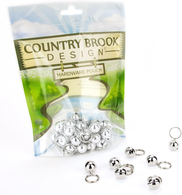 10 Country Brook Design® 1//2 Inch Cat Jingle Bells