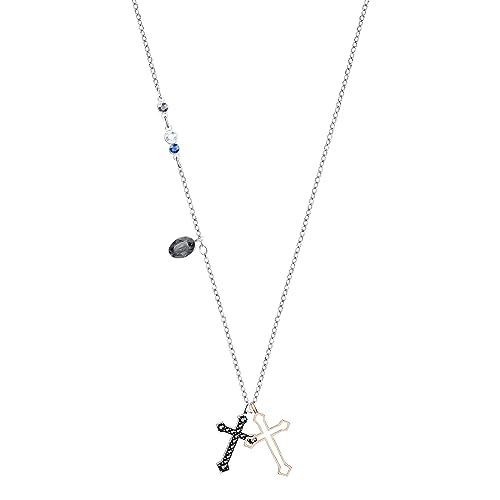 e4b30615bbd51 Swarovski Pendente da Donna Duo Mini Cross