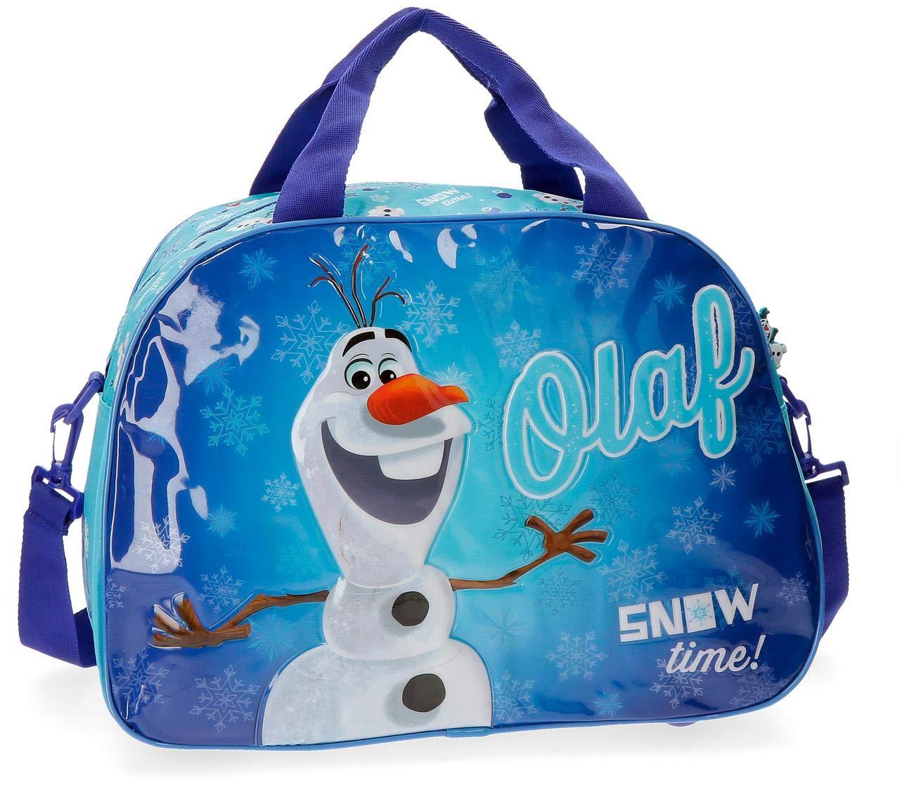 Disney Olaf Snow Bolsa de Viaje, Color Azul, 24.64 litros 2273251