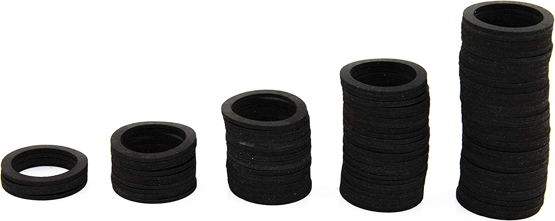 SANTRAS/® Joints plats 3//4 pouces le plus polyvalent parmi les joints 10 pi/èces jeu de joints avec joint en caoutchouc en caoutchouc pour diverses applications