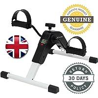 BK Distribution Online Premium Pro Folding Mini Exercise Bike Pedal Exerciser With Multi Function Digital Display