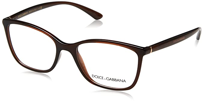 71fe8b8cd38a Image Unavailable. Image not available for. Colour: Dolce & Gabbana  ESSENTIAL DG 5026 BROWN women Eyewear Frames