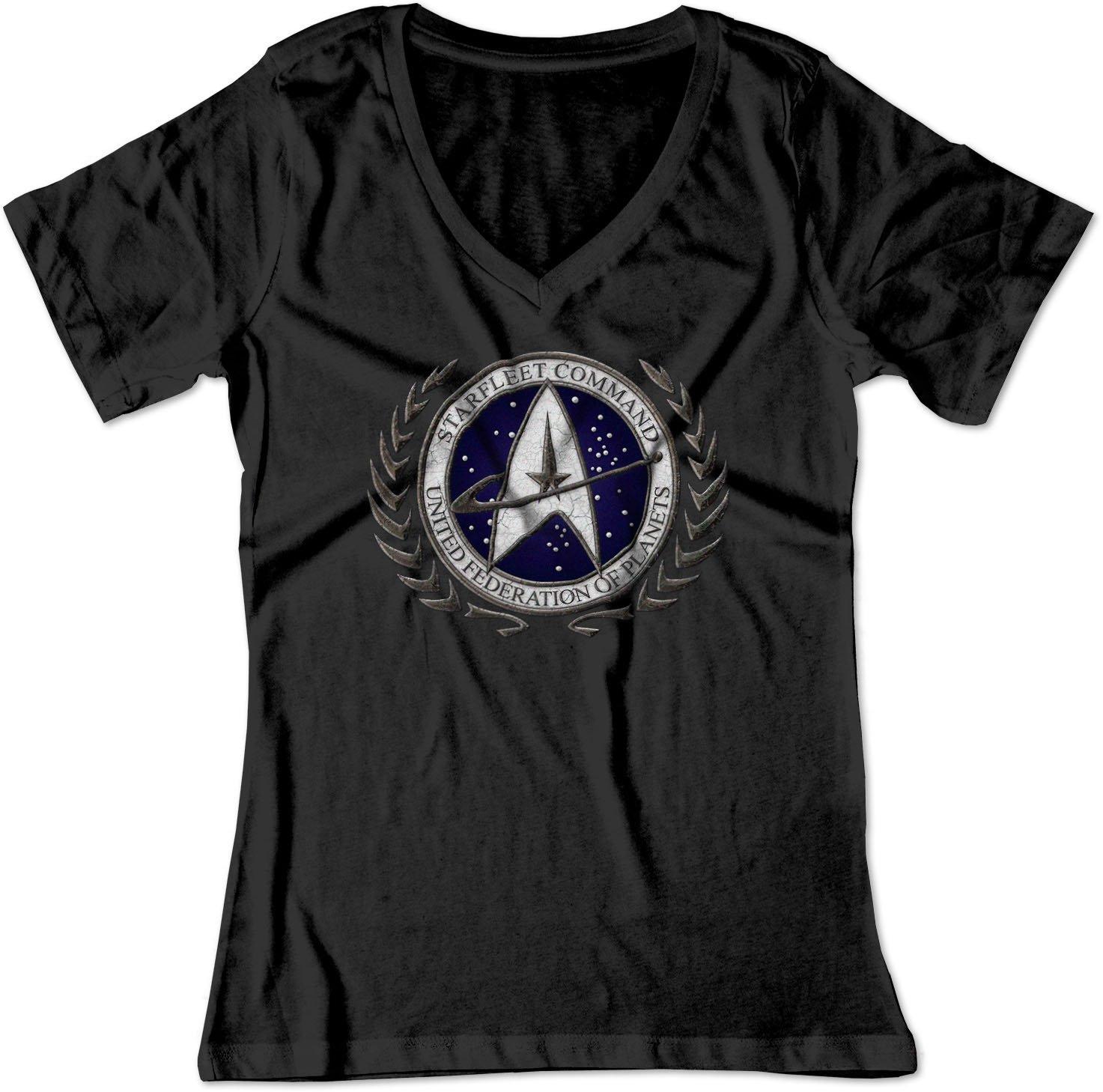 Star Trek Starfleet Command Stone Logo Shirt 4788