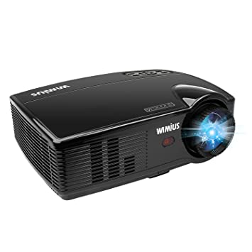 Amazon.com: WIMIUS, proyector de video T4 de 3200 lú ...