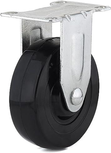 4-Pack Shepherd Hardware 9556 1-1//4-Inch Plastic Swivel Casters