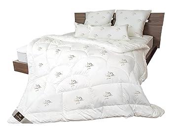 Bettdecke Air Softfill Collection SWAN DE LUXE Winter 220x200 Bezug 100/% Baumwol