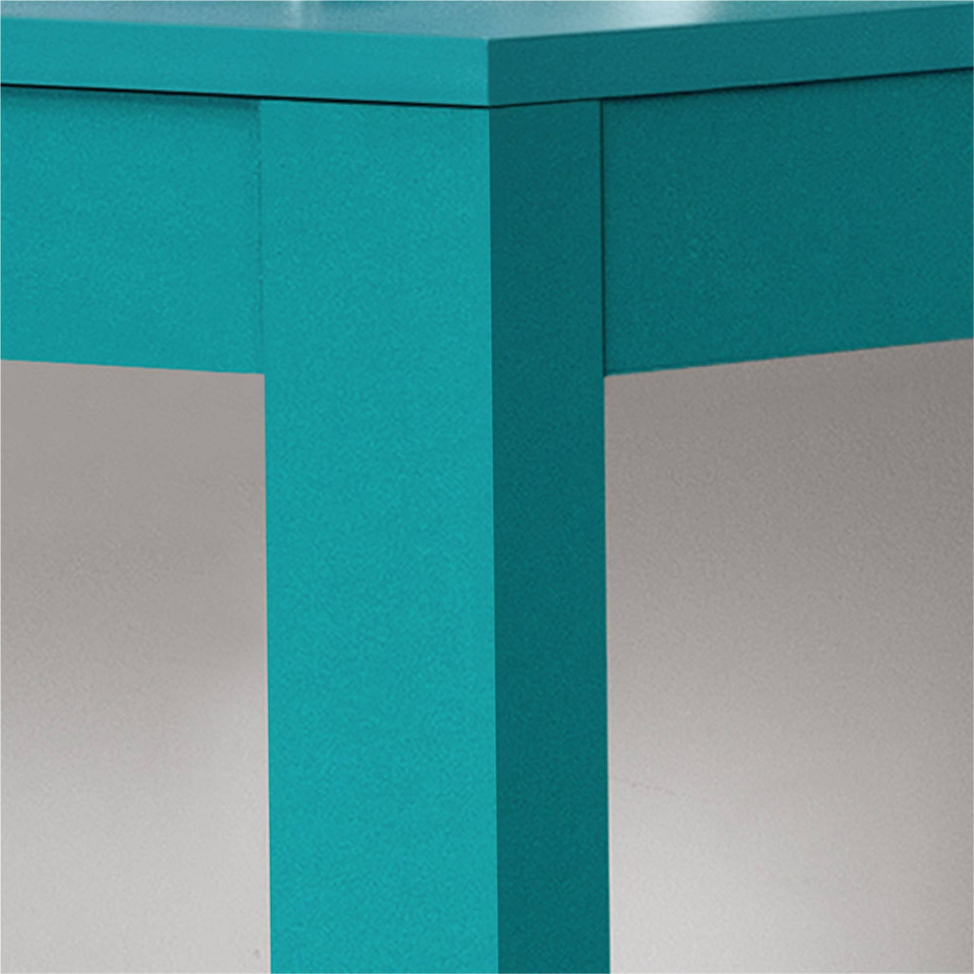 NEW Parsons Desk with Drawer, Multiple Colors (Teal)