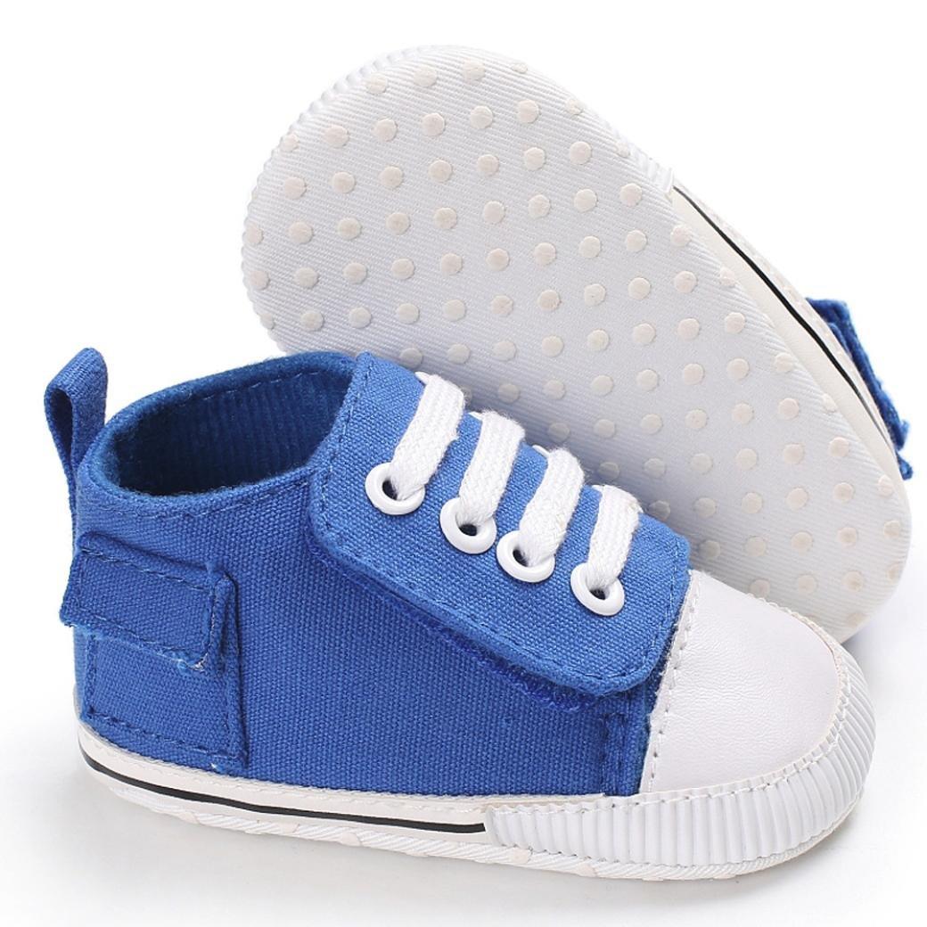 Janly Cute Boy Filles b/éb/é Soft Semelle Unique Chaussures Enfant Bottes Lacet