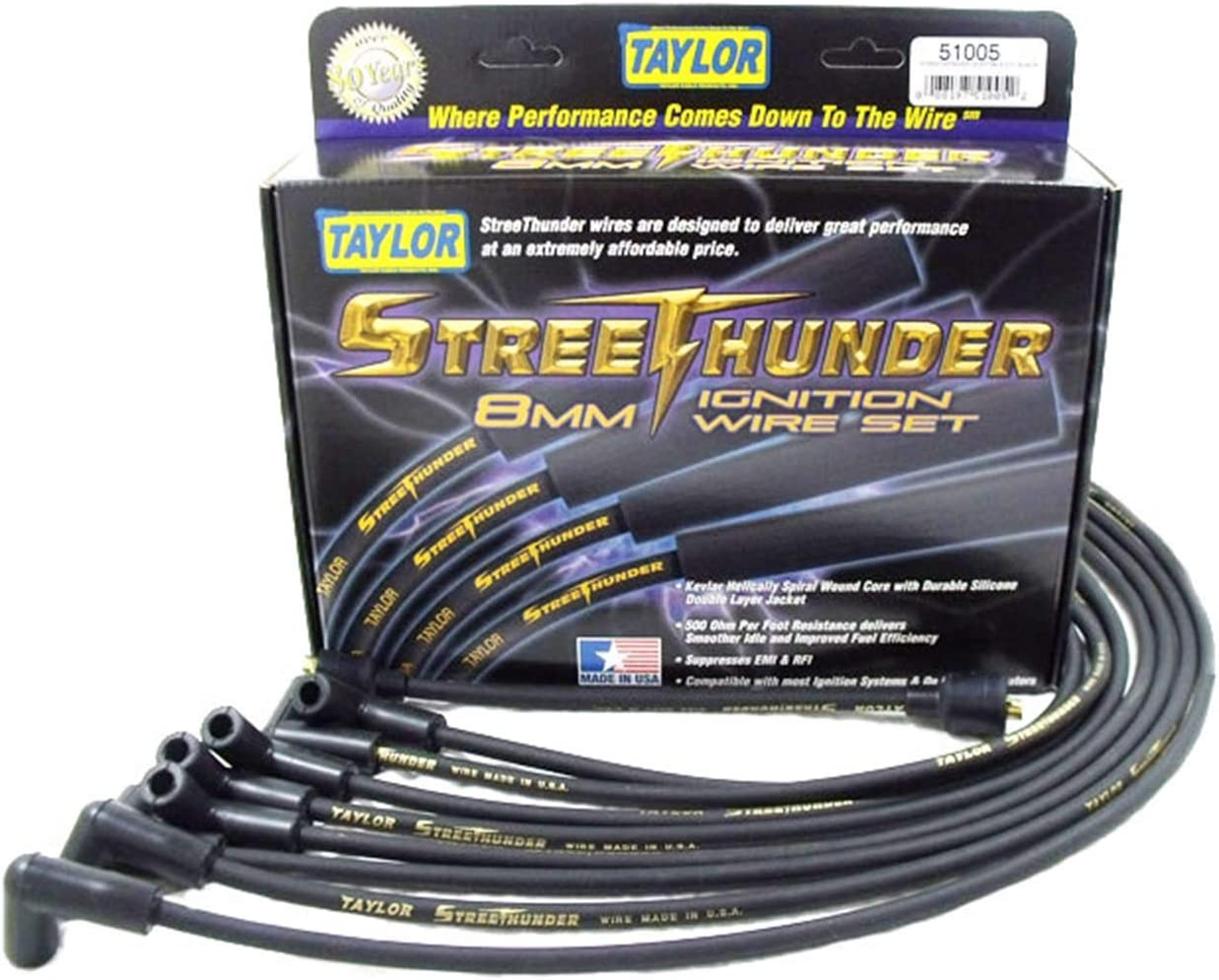 Taylor Cable 52083 Ignition Wire Set 1 Pack