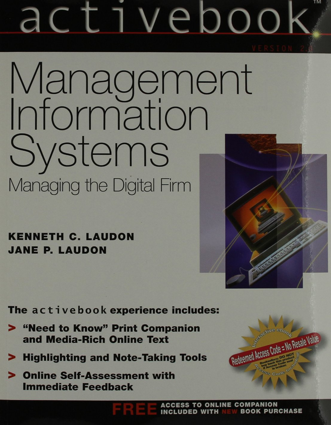 ActiveBook, Management Information Systems (8th Edition)