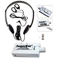 SuperEar Sonic Ear Personal Sound Amplifier Model SE5000 with Directional Compact Swivel Microphone Increases Ambient…