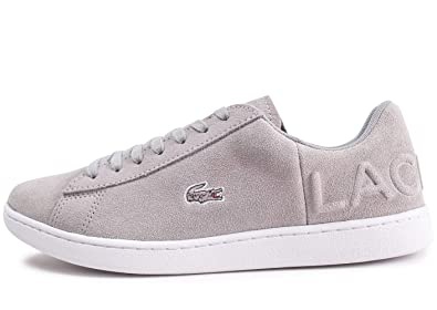 cacdb20ce Lacoste Women s Trainers Grey Size  7 UK  Amazon.co.uk  Shoes   Bags