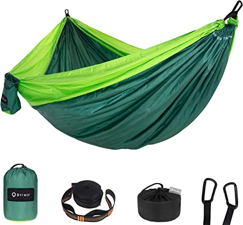 Btrwor Portable Hammock Camping Double Single