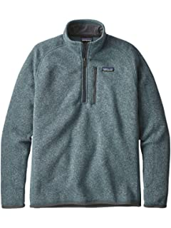 1fb950f40faea Amazon.com: Patagonia Men's Better Sweater 1/4 Zip: Clothing