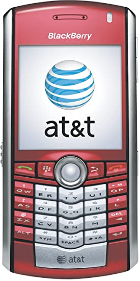 amazon com blackberry pearl 8100c phone red at t cell phones rh amazon com