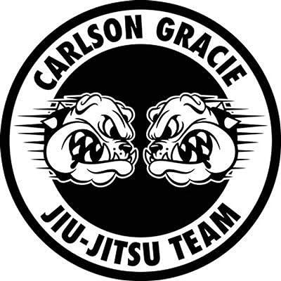 Jiu Jitsu Wall Decal Carlson Gracie Poster Wrestling Decal Wrestler Gift Sport Stencil Gym Wall Vinyl Sticker Kids Teen Boy Room Nursery Bedroom Wall Art Decor Mural ST: Arts, Crafts & Sewing