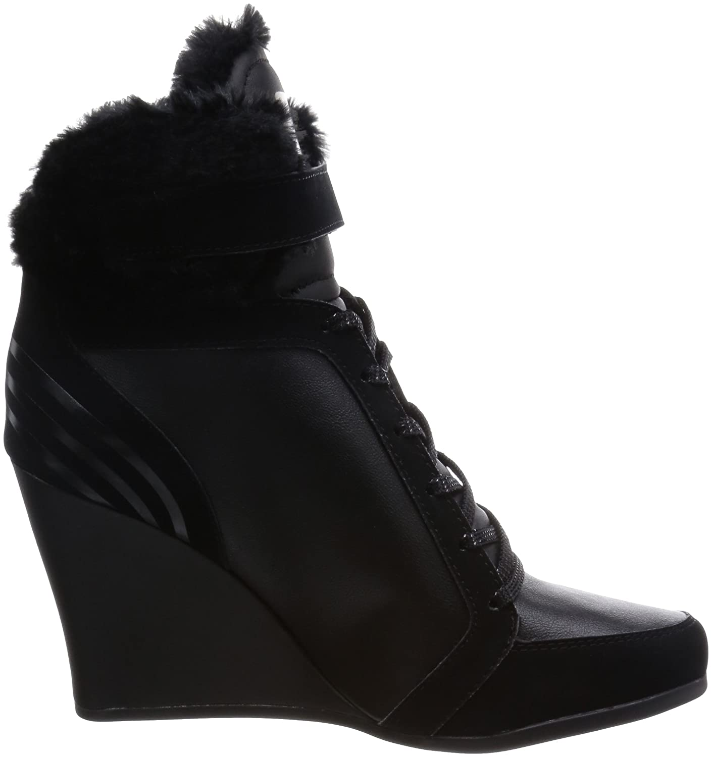 adidas Women's Neo Winter Wedge SG Hi-Top Slippers Black Size: 7.5:  Amazon.co.uk: Shoes & Bags