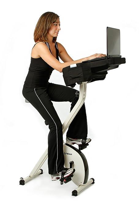 Amazoncom FitDesk SemiRecumbent Pedal Desk Exercise Bikes