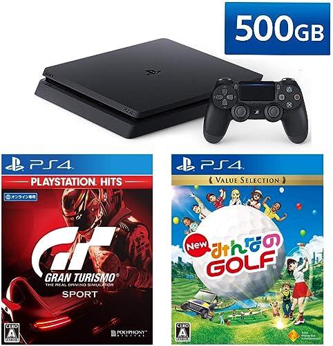 <br /> PlayStation 4 + グランツーリスモSPORT + New みんなのGOLF セット