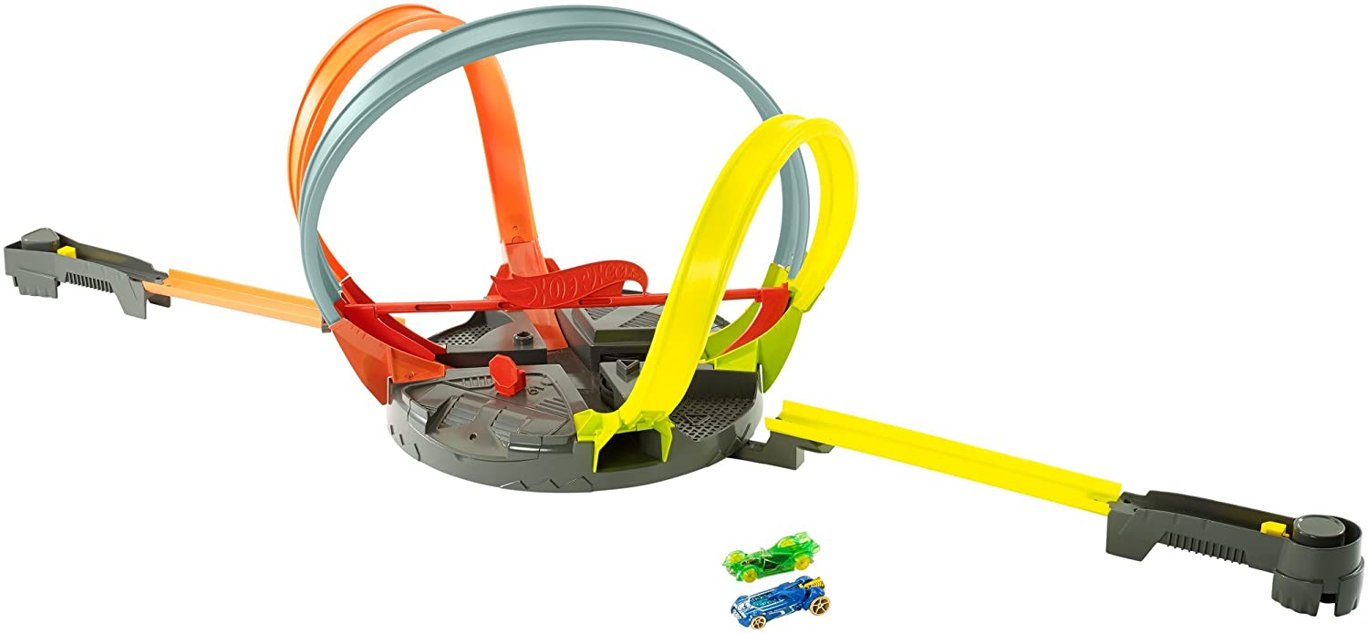 Hot Wheels Roto Revolution Track Playset Mattel FGT77