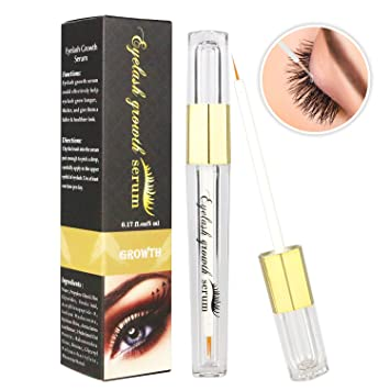 dad7cbc4c21 Eyelash Growth Serum, 5ml Eyebrow Serum Liquid Professional Eyelash Lash  Longer Enhancer Booster Serum