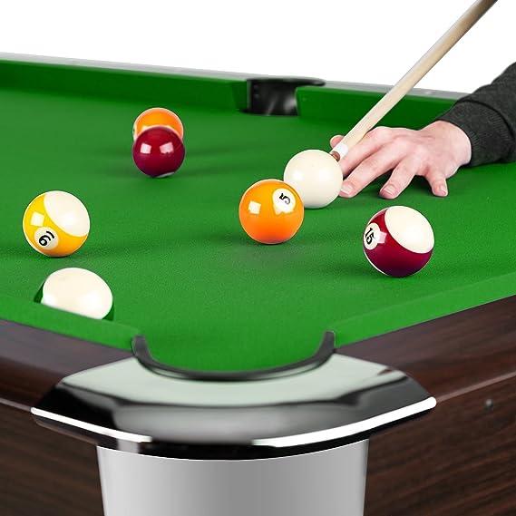 Oneconcept Leeds - Mesa de Billar, Mesa de Pool, Madera DM, Chapa ...