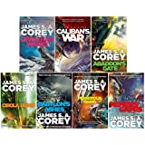 Expanse Series 1-7 James S A Corey Collection 7 Books Set