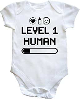 Baby Grow Level 1 Human Black