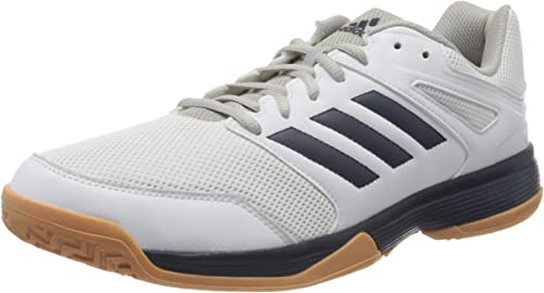 adidas Herren Performance Speedcourt Ef2623 Volleyball Schuh, Bianco